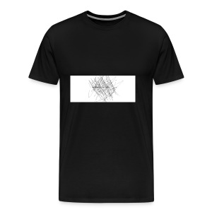 scrible out the hatters - Men's Premium T-Shirt