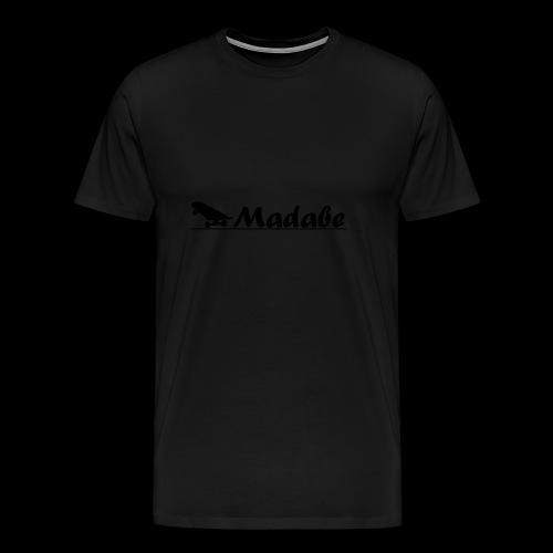 Cap black - Männer Premium T-Shirt