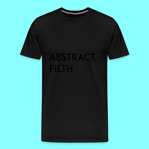 Abstract filth - Premium T-skjorte for menn