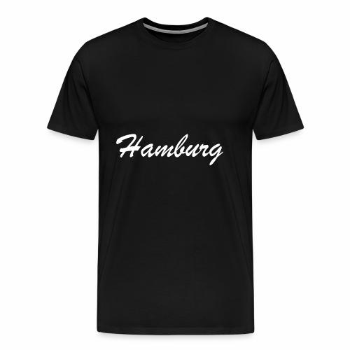 Hamburg eine der schönsten deutschen Städte - Männer Premium T-Shirt