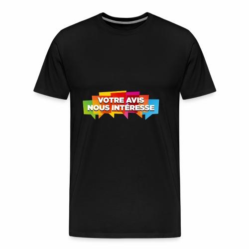 DocZslogan - T-shirt Premium Homme