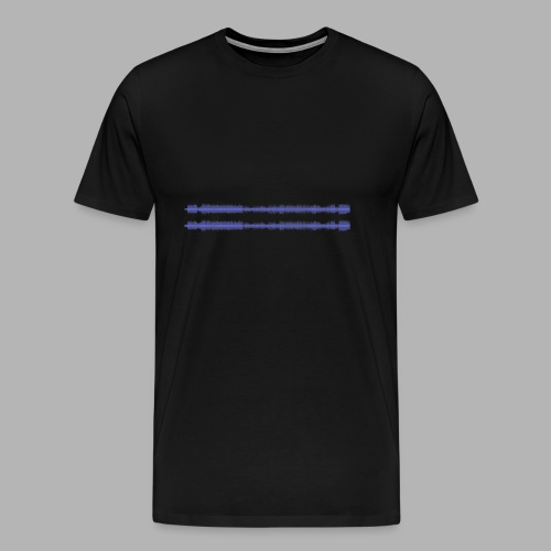 Alles was bleibt - Soundkurve - Männer Premium T-Shirt