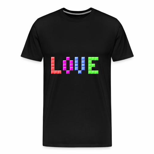 Love Puzzle - Männer Premium T-Shirt