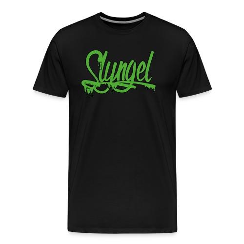 gr nn - Premium T-skjorte for menn
