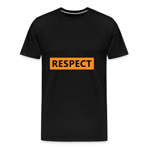 Respect (Rispetto) - Maglietta Premium da uomo
