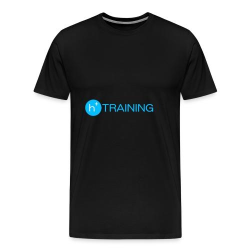 h+ training logo - Männer Premium T-Shirt