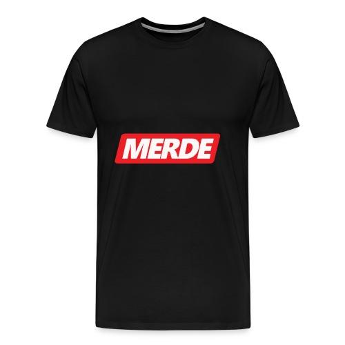 merde - T-shirt Premium Homme