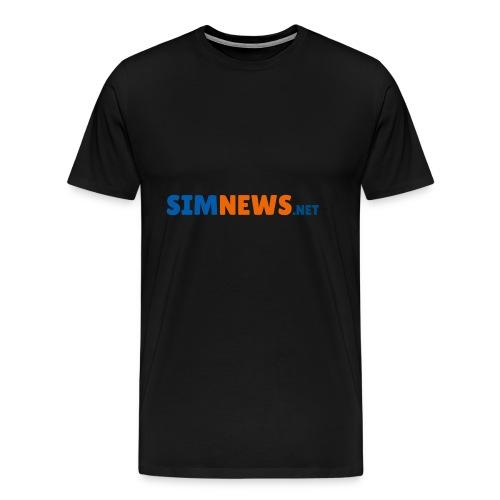 SimNews.net - Männer Premium T-Shirt