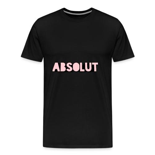 Absolut Rosa - Männer Premium T-Shirt