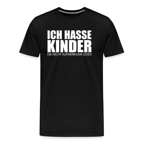 Geschenk für Lehrer - Deutschlehrer - Männer Premium T-Shirt