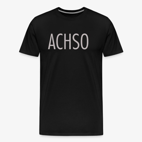leipglo shop favorite german words series ACHSO - Männer Premium T-Shirt