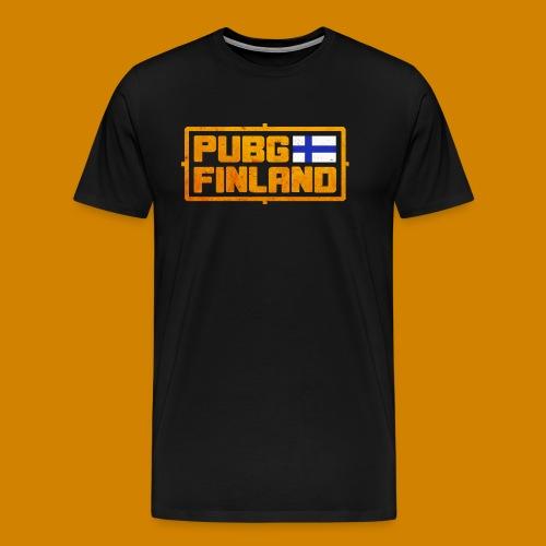 PUBG Finland - Miesten premium t-paita