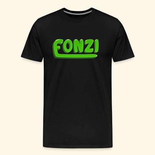 FONZI Official Logo - Maglietta Premium da uomo