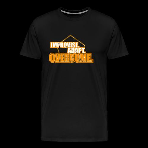 Improvise Adapt Overcome - Männer Premium T-Shirt