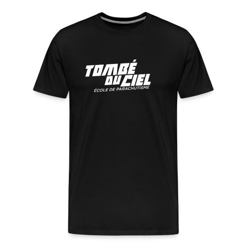 Logo TDC WHITE 2018 - T-shirt Premium Homme