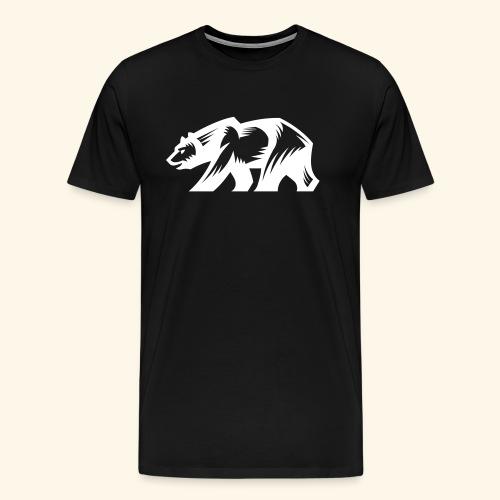 Grizzly Bear - Männer Premium T-Shirt