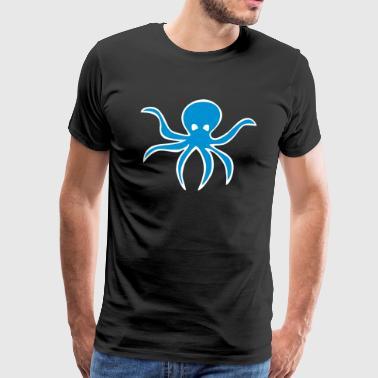 Octopus från havet eller havet - Gift - Premium-T-shirt herr
