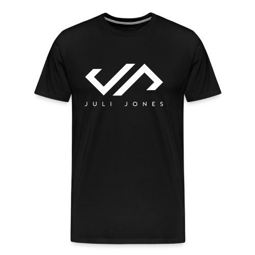 JuliJones white Logo - Männer Premium T-Shirt