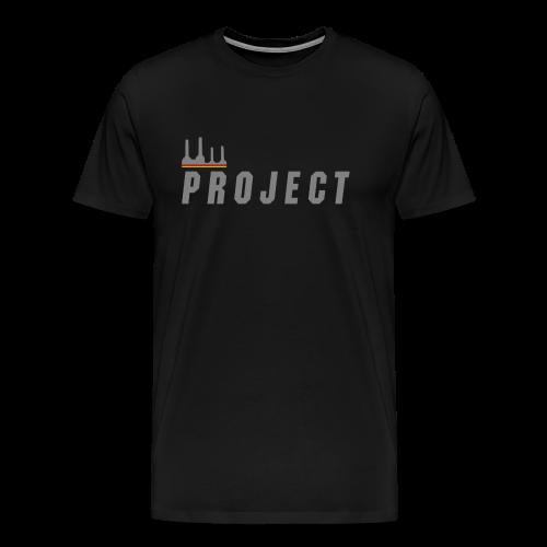 The Project, silver - Men's Premium T-Shirt