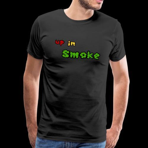 up in smoke - Männer Premium T-Shirt