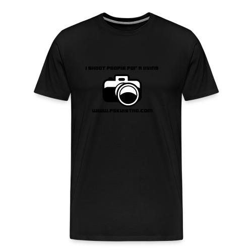 ishootpeopleforaliving_2-png - Premium T-skjorte for menn