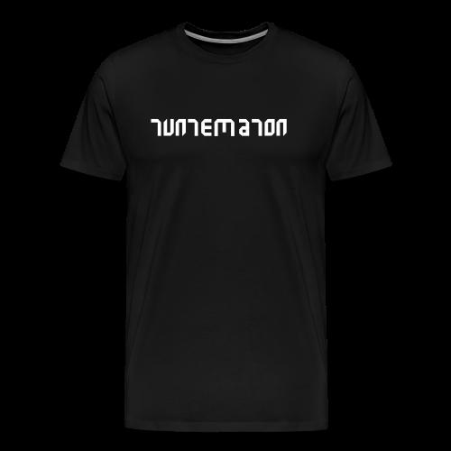 Teippilogo - Miesten premium t-paita
