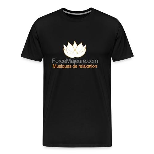 gros logo pour t shirt - T-shirt Premium Homme