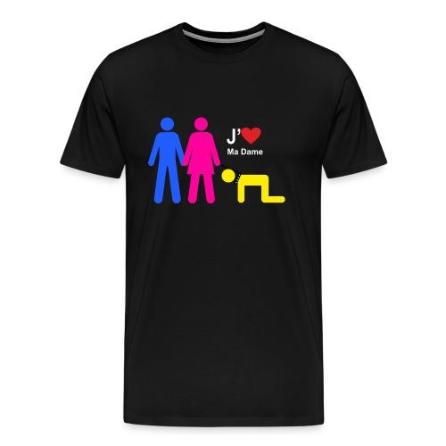 j aime ma dame - T-shirt Premium Homme