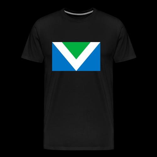 Vegan Flag International - Männer Premium T-Shirt