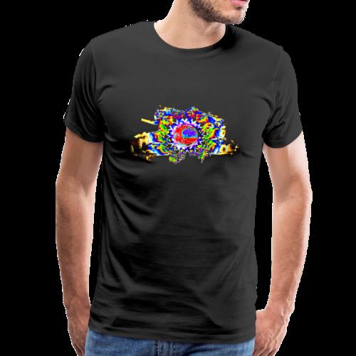 cellular - eye two - Männer Premium T-Shirt