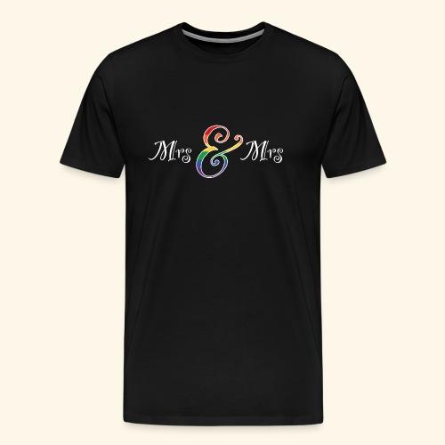 MrsMrs2 - Männer Premium T-Shirt