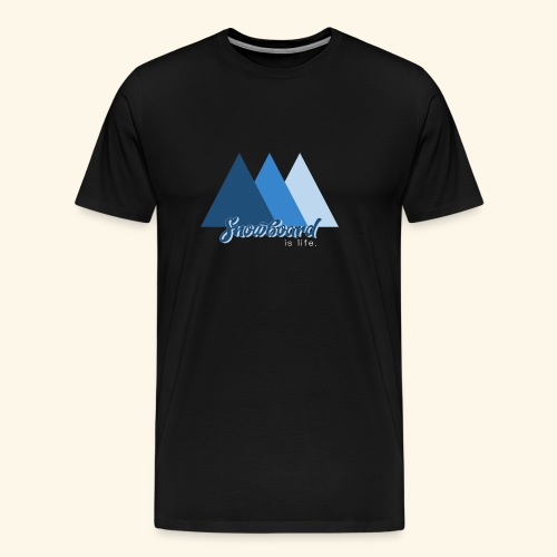 snowboard - T-shirt Premium Homme
