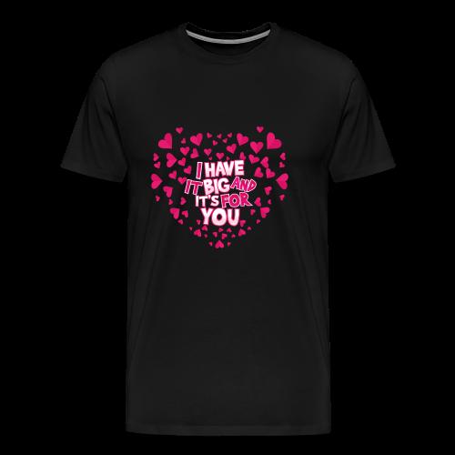 LOVE - Camiseta premium hombre