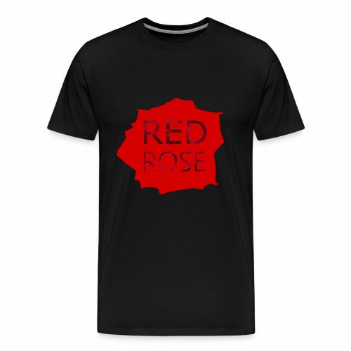 Red Rose, by SBDesigns - T-shirt Premium Homme
