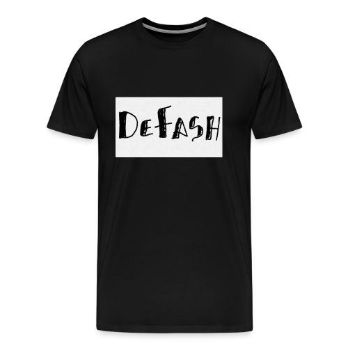 Defash1-png - T-shirt Premium Homme