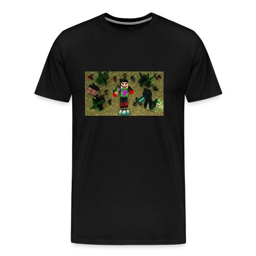 rebbeozelot19 Happy OcMalte01 T-Shirt - Men's Premium T-Shirt