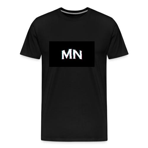 MN-Glitch Logo - Männer Premium T-Shirt