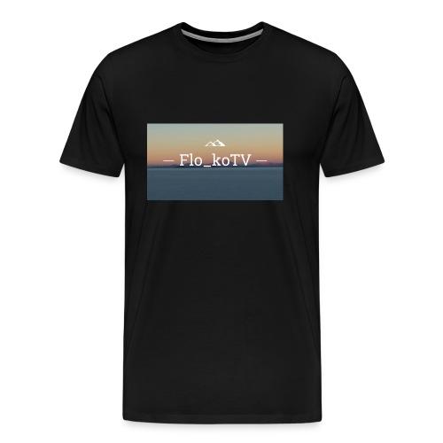 flo_koTV - Männer Premium T-Shirt