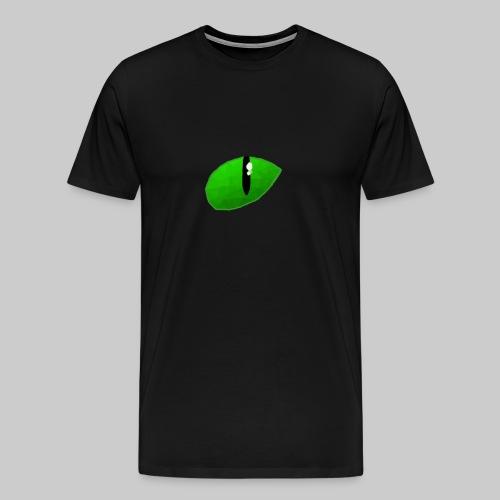 BlackCatHDe Logo - Männer Premium T-Shirt
