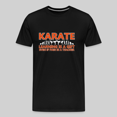 Karate double evolution (6) - Men's Premium T-Shirt