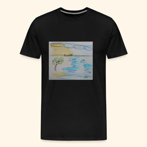 Südseehai - Männer Premium T-Shirt
