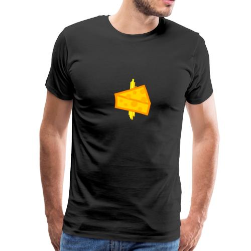 Cheesy Design - Men's Premium T-Shirt