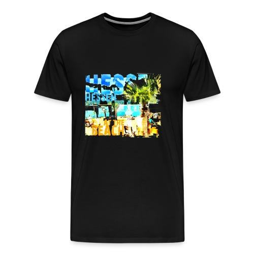HESSEN at the BEACH - Männer Premium T-Shirt