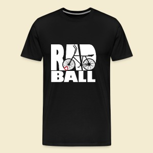 Radball   Typo - Männer Premium T-Shirt