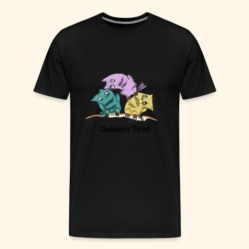 Tired - Men's Premium T-Shirt