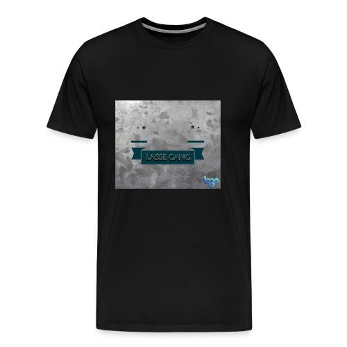 Lasse Gang Logo - Männer Premium T-Shirt