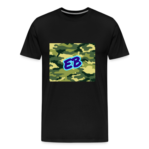 Ellibradyoffical green camo - Men's Premium T-Shirt