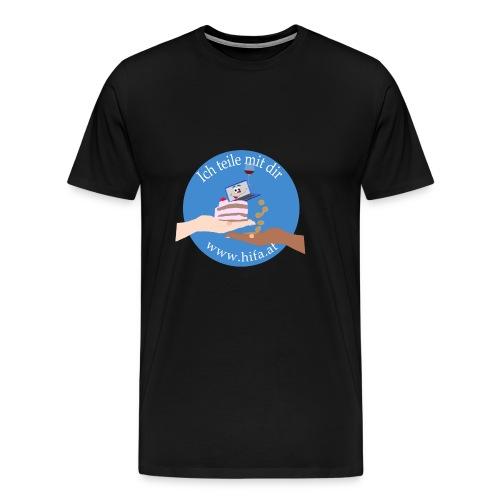 Teilen - Männer Premium T-Shirt