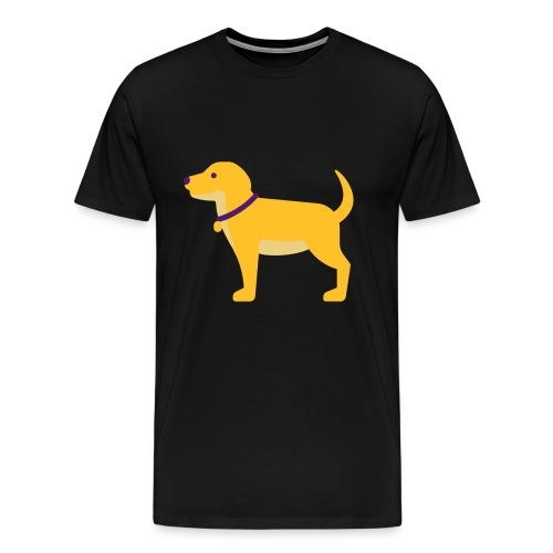 Hund Halsband Süß - Männer Premium T-Shirt