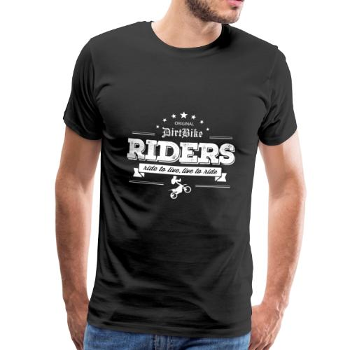 113809974 143384145 Ride to live live to ride - Männer Premium T-Shirt